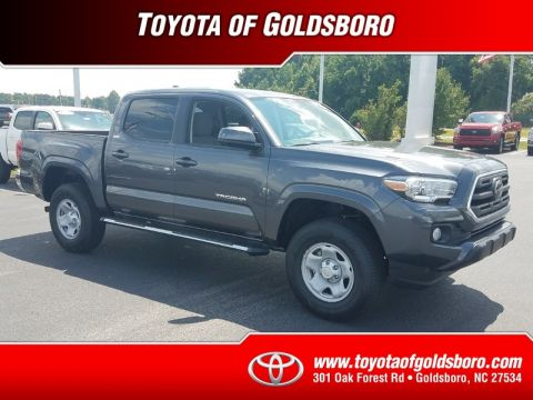 New 2018 TOYOTA TACOMA SR5 DOUBLE CAB 5' BED I4 4X2 AT