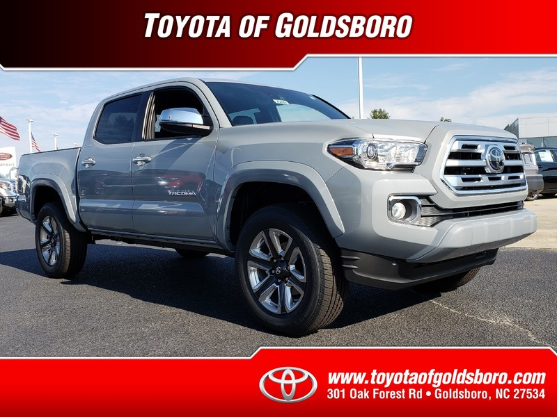 New 2018 TOYOTA TACOMA LIMITED DOUBLE CAB 5' BED V6 4X2 AT
