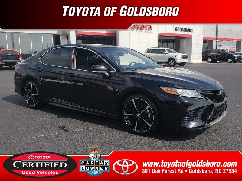 Certified Pre-Owned 2018 TOYOTA CAMRY XSE AUTO