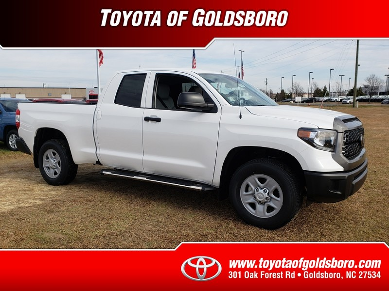 New 2019 TOYOTA TUNDRA SR DOUBLE CAB 6.5' BED 4.6L