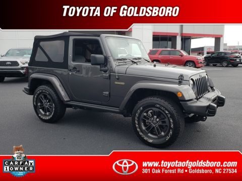 Pre-Owned 2018 JEEP WRANGLER JK FREEDOM EDITION 4X4