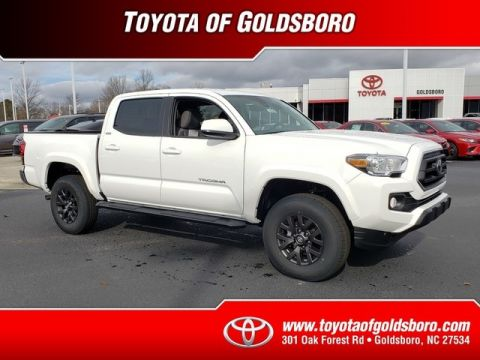 New 2020 Toyota Tacoma 2WD SR5 Double Cab 5' Bed V6 AT (Natl)