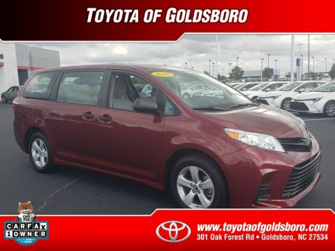 Pre-Owned 2018 TOYOTA SIENNA L FWD 7-PASSENGER