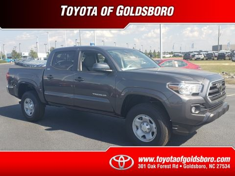 New 2019 TOYOTA TACOMA SR5 DOUBLE CAB 5' BED I4 AT