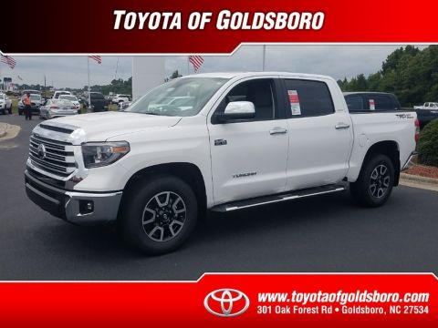 New 2018 TOYOTA TUNDRA LIMITED CREWMAX 5.5' BED 5.7L