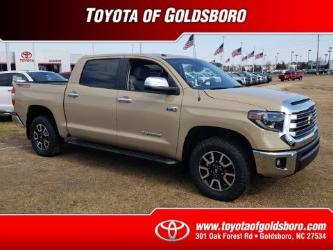 New 2019 TOYOTA TUNDRA LIMITED CREWMAX 5.5' BED 5.7L
