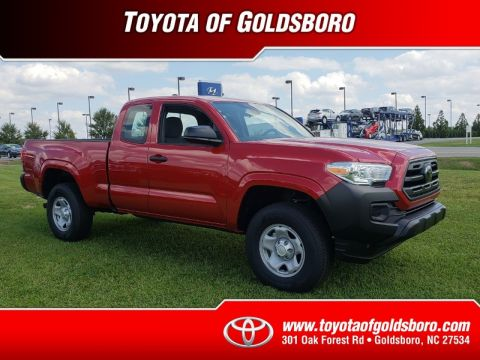 New 2018 TOYOTA TACOMA SR ACCESS CAB 6' BED I4 4X2 AT